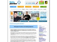 Recommended Plumbers in Nottingham and Surrounding Areas