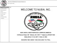 nubiainc.net Founder's Greeting, Mission Statement, Programs Offered