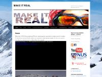 MAKE IT REAL | National University of Singapore Mountaineering Club