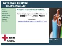 DevonOak Electrical