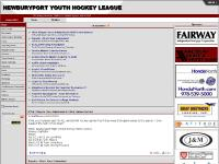nyhl.org Hockey, NYHL, Newburyport Youth Hockey League