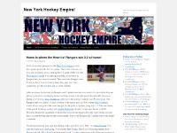 New York Hockey Empire! | Your only stop for all things New York Hockey!