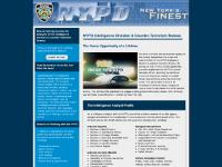 NYPD Intelligence Division and Counter-Terrorism Bureau