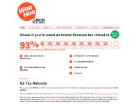 Tax Refund | Do you have a WooHoo waiting? | NZ Tax Refunds