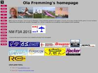 dedicated pages to F3P is created, Results etc from Chivas cup, New Nordic and F3A schedules, Results and pictures from Nationals
