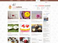 ohcupcakes.net inspiration original ideas cupcakes muffins recipes chocolate frosting vegans decoration baking utensils books specialized places taste