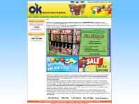 OK Manufacturing, Gumball Machines & Gumballs