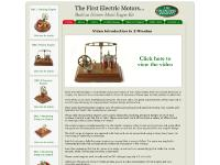 oldmodels.co.uk Model engine kits non steam engines beam engines newcomen engines faraday engines froment