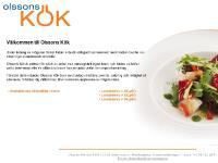 Välkommen till Olsson's Kök