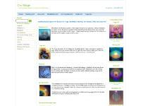 omvillage.com yoga art, meditation art, healing art