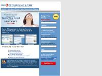 onepaycheckatatime.com become debt free, becoming debt free, how to become debt free