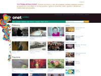 onet.tv Twoje dane, Zmień hasło, Wyloguj się