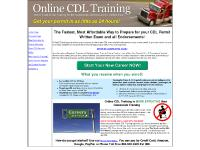 Online CDL Training School Drivers Permit Test Training Endorsements