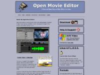 openmovieeditor.org Download, Screenshots, Documentation
