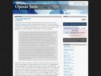 opiniojuris.org nothing to do, Ryan Goodman, critique