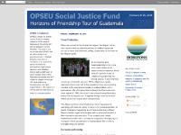 OPSEU in Guatemala