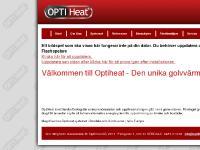 OptiHeat - Vattenburen Golvvärme