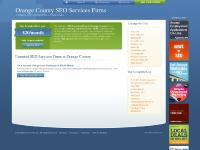 Orange County SEO Services Firms
