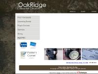 Oak Ridge Baptist - Spring TX: Home
