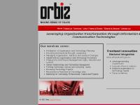 orbiz.biz Services, Links, Clients & Sectors