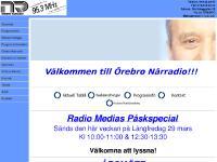 Websändningar, Programinformation, Örebro Närradio, Närradions Vänner