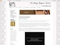 oregonregencysociety.com Regency, Society, costume balls