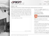 orionit.ltd.uk web design, website design, webpage design
