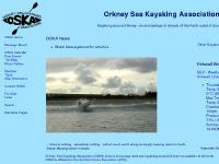 OSKA - Orkney Sea Kayaking Association - Promoting Sea Kayaking around Orkney, Scotland