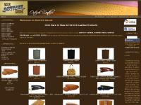 Ostrich Wallets, Ostrich Belts, Ostrich Handbags & Other Ostrich Leather Goods