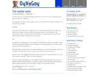 Oy Va Goy! Blog by Chas Newkey-Burden