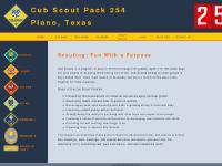Cub Scout Pack 254 - Plano, TX