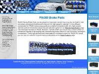 PAGID Racing Brake Pads for Performance Sports cars.