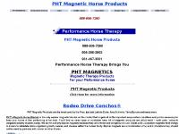 painxequine.com PHT Magnetic Horse Products, PHT Magnetic Horse Products,  PHT MAGNETICS