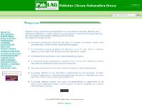 paklag.org Library Automation, Multilingual web OPAC, Online directory of LIS profe