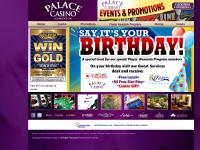 palacecasino.com Casino, Promotions, Player Rewards Program