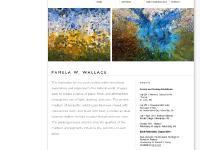 pamelawwallace.com ARTWORK, Elemental Flow Series, Detritus Series
