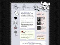 Unique gothic birthday cards and alternative greetings cards for all occasions by Paper Scissors Card : Home