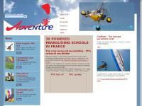 Paramoteur & parapente : Adventure, fabricant, école, formation & stage de paramoteur