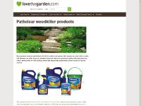 Pathclear weedkiller products | LoveTheGarden.com