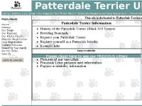 Patterdale Terrier Uk Main Page