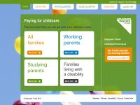 Paying for childcare Home