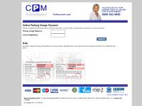 Online Parking Charge Payment - UK CPM Ltd