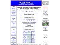 pballstats.com Powerball, PowerBall, Powerball Lottery