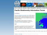 Pacific Biodiversity Information Forum | Pacific Biodiversity Information Forum