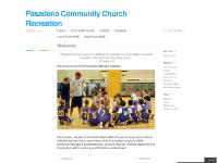 Pasadena Community Church Recreation | Just another WordPress.com site