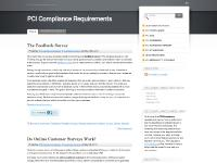PCI Compliance Mentor, Customer Surveys, feedback survey, Read the rest of this entry »