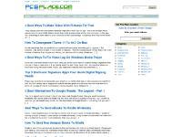 PCs Place - Tips & Tricks |Tutorials | Web 2.0 | Software