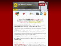 PDF-Password-Recovery - Recover Lost PDF Document Passwords