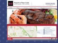 peachandpearcafe.co.uk