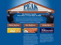peakauction.com Building supply auctions, supply auctions, building material auctions